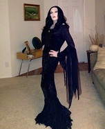 Morticia Homemade Costume