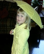 Morton Salt Homemade Costume