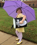 Morton Salt Girl Homemade Costume