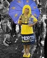 Morton Salt Girl Homemade Costume