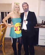 Most Interesting Man in the World and Dos Equis Bottle Homemade Costume