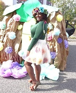 Mother Nature Costume DIY