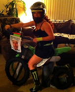 Motocross Couple Homemade Costume