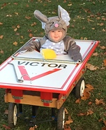 Mouse caught in Trap Homemade Costume