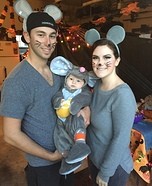 Mouse Family Homemade Costume