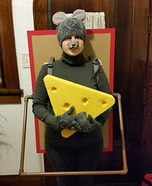 Mouse in a Mousetrap Homemade Costume