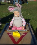 Mouse in Trap Baby Homemade Costume