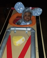 Mouse stuck in Trap Homemade Costume