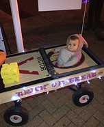 Mouse Trap Baby DIY Halloween Costume