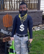 Homemade Mr. T Costume for Boys