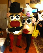 Couples Halloween costume idea: Mr. and Mrs. Potato Head Costumes