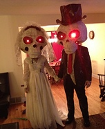 Mr. and Mrs. Bobble Homemade Costumes