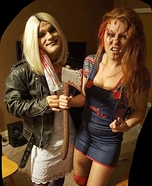 Mr. and Mrs. Chucky Homemade Costume