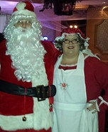 Mr. and Mrs. Claus Homemade Costume