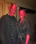 Mr. and Mrs. Devil Costume