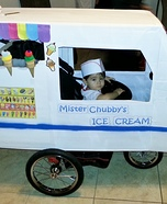 Creative homemade costumes for babies - Mr. Chubby's Ice Cream Halloween Costume