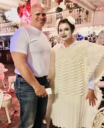 Mr Clean and his Magic Eraser Homemade Costume