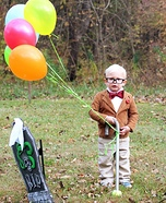 Mr. Frederickson Homemade Costume