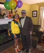 Mr. Frederickson and Russell Homemade Costume