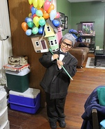 Mr Fredricksen from UP Homemade Costume