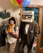 Mr Fredrickson and Russell Homemade Costume