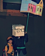 Mr. Fredrickson, Russel and the House Costume