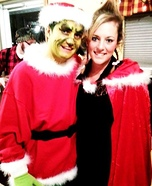 Mr. Grinch and Cindy Lou Who Homemade Costume