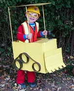 Mr. Handsome Construction Homemade Costume