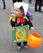 DIY baby costume ideas: Mr. Jack in the Box Baby Costume