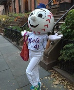 Mr. Met Homemade Costume