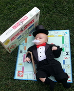 Costume ideas for baby's first Halloween - Mr. Monopoly Baby Costume