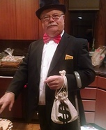 Mr. Monopoly Homemade Costume