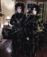 Mr & Mrs Edward Scissorhands Homemade Costume