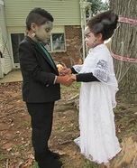 Mr. & Mrs. Frankenstein Homemade Costume