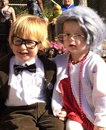 Mr & Mrs Fredrickson Homemade Costume