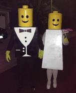 Mr & Mrs Lego DIY Couple Costume