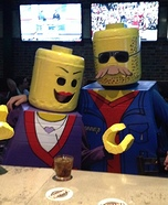 Mr. & Mrs. Lego Homemade Costume