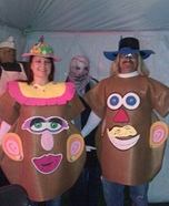 Mr. & Mrs. Potato Head Costume