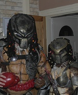 Mr & Mrs Predator Homemade Costume