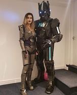 Mr & Mrs Robot Homemade Costume