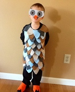 Mr. Owl Homemade Costume