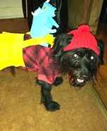 Mr. Paul Bunyan Homemade Costume