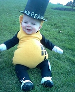 Mr. Peanut Baby Costume