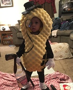 Mr. Peanut Baby Homemade Costume