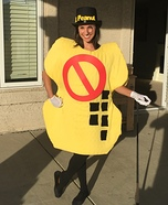 Mr Peanut Free Homemade Costume