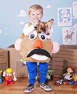 Mr. Potato Head Homemade Costume