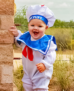 Mr. Puft Marshmallow Man Costume