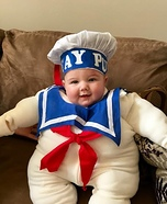 Mr. Stay Puft Homemade Costume