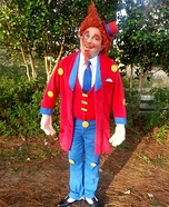 Mr. Toffee with Candy Crush Candy Homemade Costume