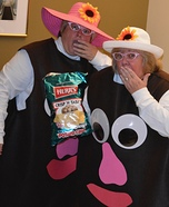 Mrs. and Mrs. Potato Head Homemade Costume